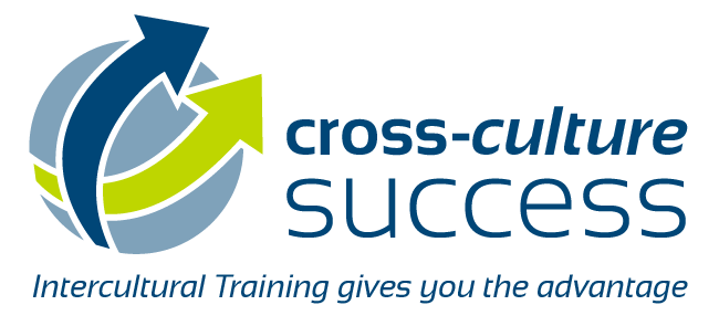 cross-culture success logo / Intercultural Training gives you the advantage
